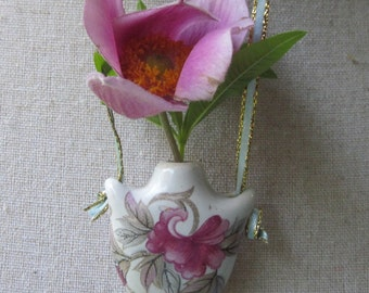 Vintage Bud Vase Pendent