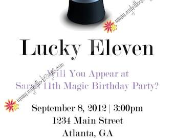 Birthday Invitations: Simple Magic