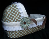 Doll Bassinet - made to order