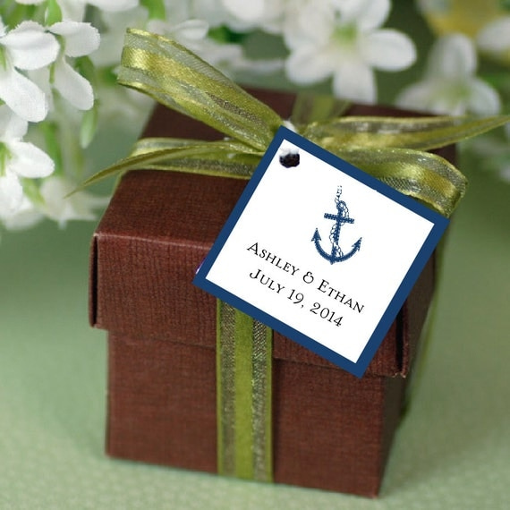 Nautical Wedding Gift Tags : ... Gifts Guest Books Portraits & Frames Wedding Favors All Gifts