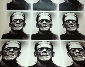 Frankenstein Wrapping Paper/Giftwrap