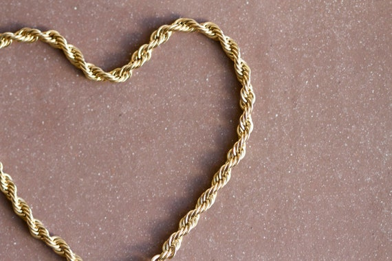 Golden Chain Eighties Bracelet - Twisted Elegance