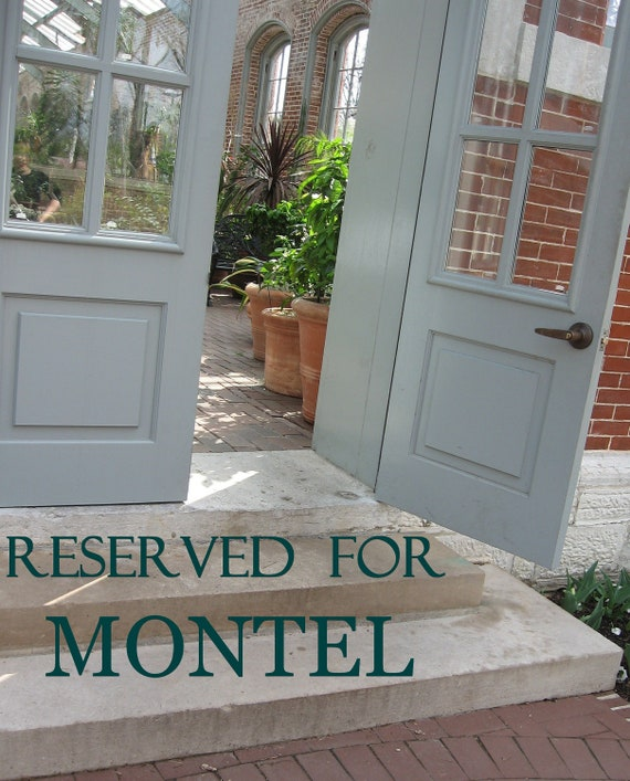 Reserved For Montel...