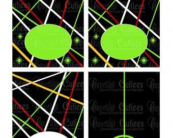 Laser Tag -Digital Table TeNts N Food Foldover Blank LaBeLs- Large- U pRiNt- Instant Download