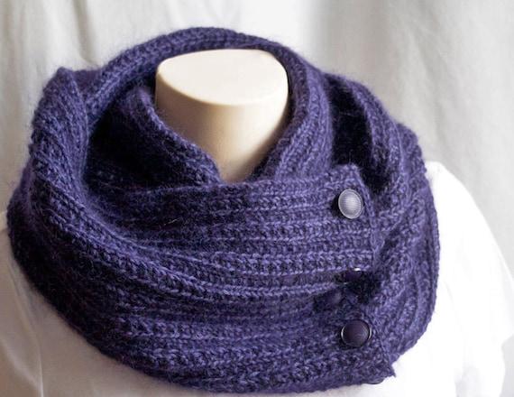 tricoter un foulard