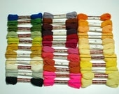 SALE ///// U Pick ///// half dozen skeins vintage bucilla persian needlepoint and crewel wool