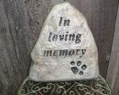 In loving memory pet memorial for your beloved dog friend