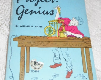 Project Genius by William D Hayes Vintage Scholastic Book