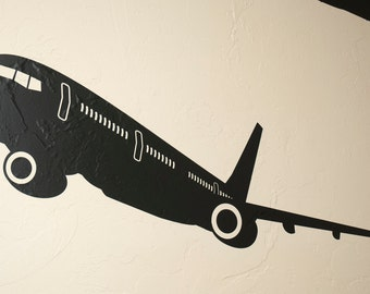 Commercial Airliner - Wall Decal