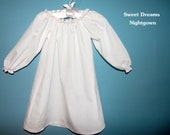 Sweet Dreams Nightgown - Ready for  Your Embroidery