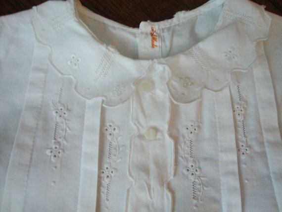 RESERVED Vintage Baby Romper One Piece Outfit Handmade