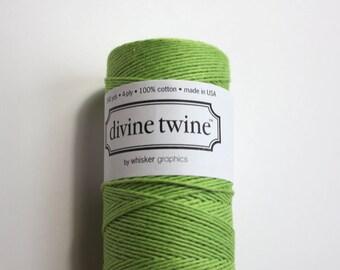 Green Divine Twine - Baker's Twine - 20 yards