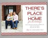 Christmas Card - No Place Like Home - Moving