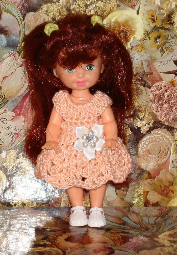 Handmade Crochet Dress For Kelly Barbie number  731