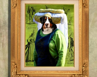 """Shop """"bernese mountain dog"""" in Painting"""