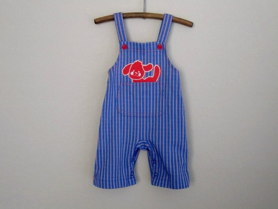 vintage baby overalls 3 months