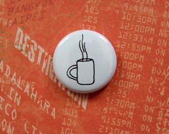 Warm Coffee - 1 inch