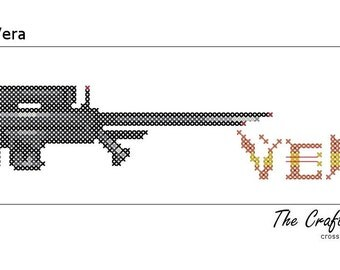 I Call It Vera - Firefly Inspired PDF Cross Stitch Pattern - INSTANT DOWNLOAD