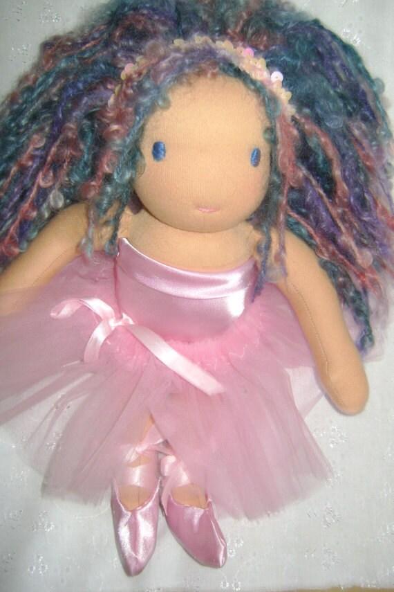 Sale Meet Kalyn a 12/13 inch OOAK Ballerina Waldorf Doll