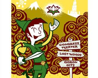 REDUCED PRICE!!! Lotus Gig Poster