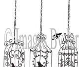 Reserved for Janet- birdcages