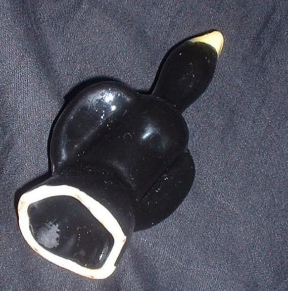 RESERVED vintage  black bird pie funnel