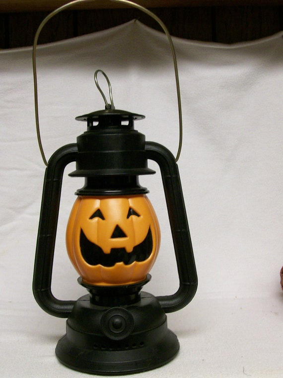 Reserved for Candace Vintage HALLOWEEN Lantern Pumpkin Jack o  LANTERN