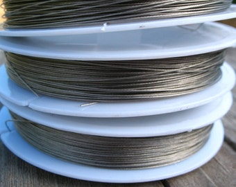 70 Meters Steel Tigertail Beading Wire .38mm approx 229 Feet