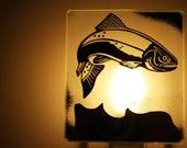 Fishing Nightlight / Veilleuse Pêche