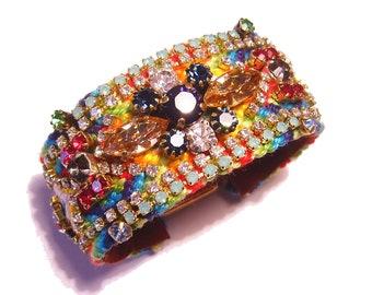 PureEssentia Original Rhinestone Friendship Bracelet  - Mexican Luxury (made to order)