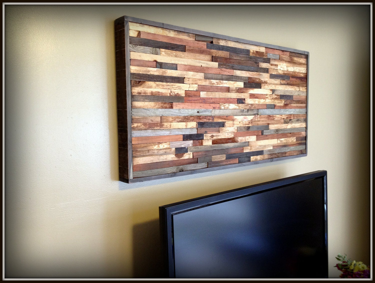 Wall art modern reclaimed barnwood art wall sculpture in Reclaimed wood wall art for sale
