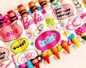 Barbie Crayon Ammo Belt