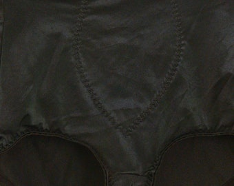 black control top panties  size small