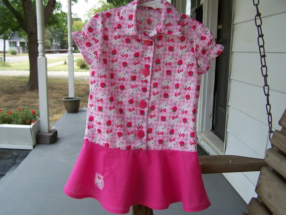 Hello Kitty Dress-size 2 PRICE REDUCED (was 27 dollars)