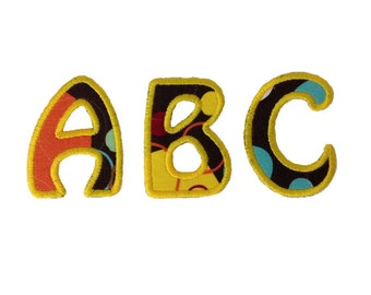 Hobo Applique Machine Embroidery Font Monogram Alphabet - 5 Sizes