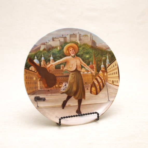 Collectible Plate- The Sound Of Music