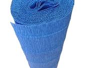 Italian Crepe Paper roll 180 gram  -  557 STEEL BLUE