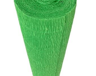 Italian Crepe Paper roll 180 gram  -  563 EMERALD ISLE