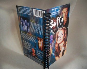 Buffy the Vampire Slayer VHS notebook