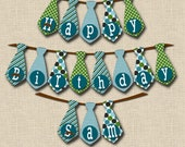 Little Man Mustache Bash Birthday Banner - PRINTABLE