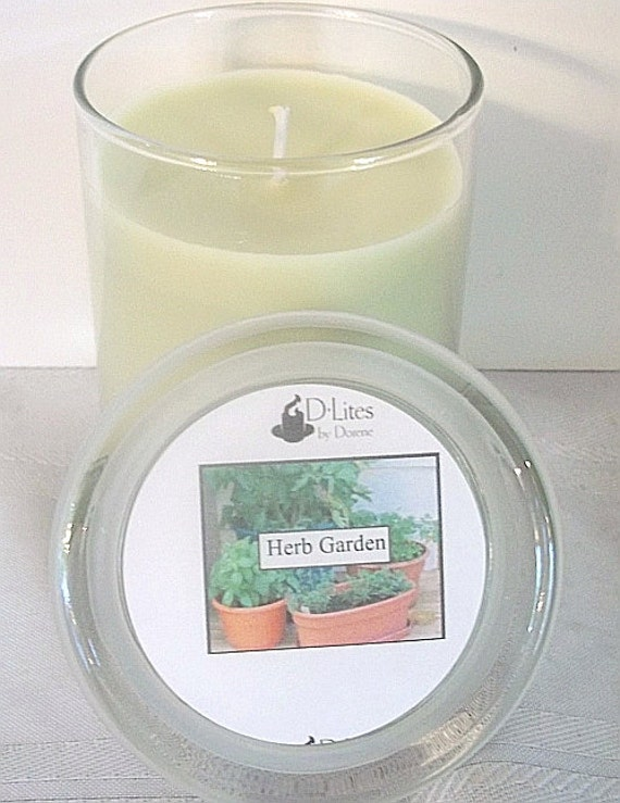 Herb Garden 12 oz. candle - clearance, 50% off