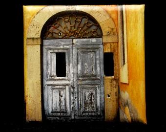 Double Switchplate Cover - Orvieto Doorway