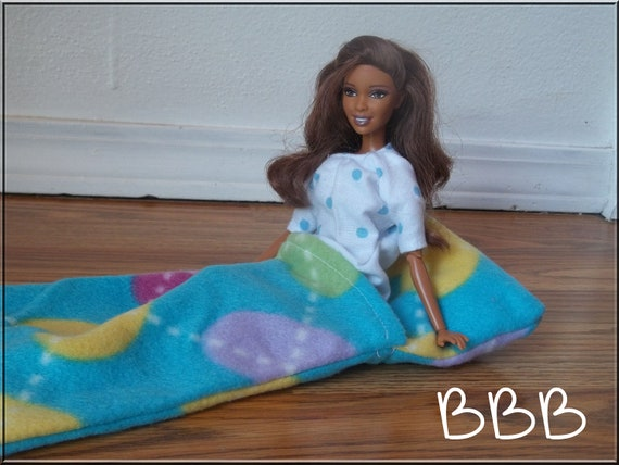 Barbie Clothes Accessories Sleeping Bag