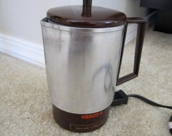 Vintage Electric Coffeemaker Nesco 4 cup size