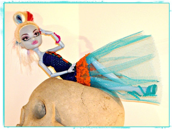 Monster High Doll Clothes, Abbey Bominable's Turquoise Dream