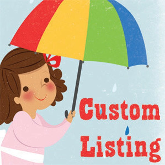 Custom listing for Amira Renee Miles