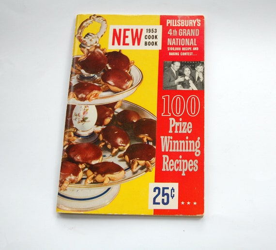 Vintage Pillsbury Cookbook 1953 Prize Winning by cheryl12108