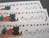 Halloween paper / Black kitty