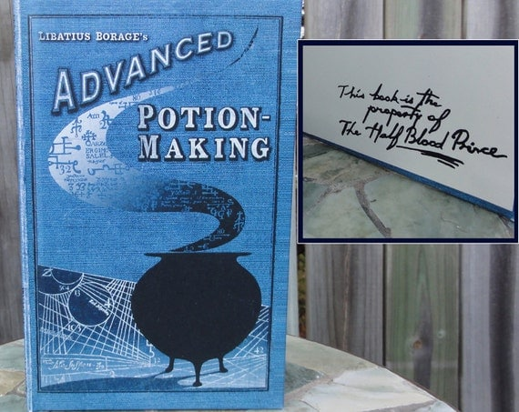 Advanced Potion Making Textbook - Harry Potter Slytherin Journal - Hogwarts Book