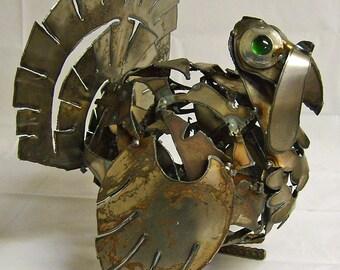Plump Turkey  - Steel sculpture